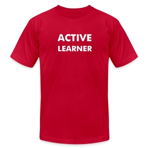 Active Learner - Men's Fine Jersey T-Shirt