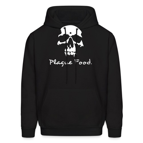 Plague Food white - Men's Hoodie