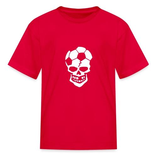 Soccer Skull - Kids' T-Shirt