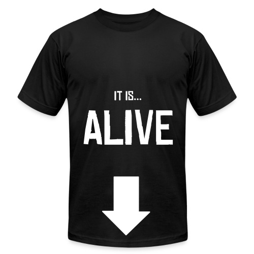 it is... ALIVE - Men's Fine Jersey T-Shirt