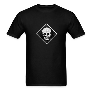 Skull T-Shirt (Skull Weathered Look) - Men's T-Shirt