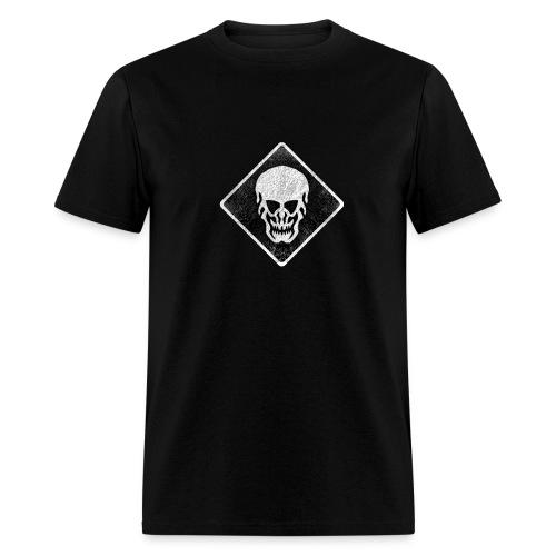 Skull T-Shirt (Skull Weathered Look) - Men's T-Shirt
