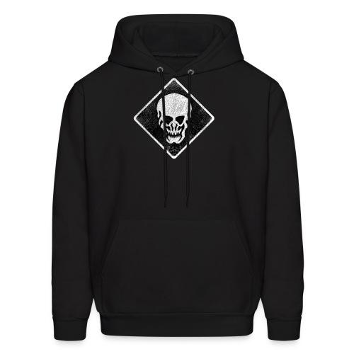 Skull Hooded Sweatshirt - Men's Hoodie