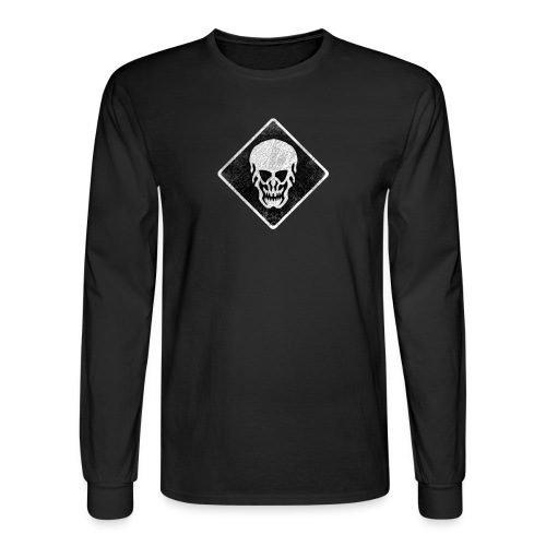 Skull Long Sleeve - Men's Long Sleeve T-Shirt