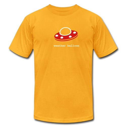 [weatherballoon] - Men's T-Shirt by American Apparel