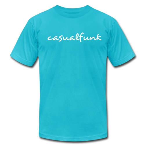 casualfunk - marquess wyatt - house music artist - Men's Fine Jersey T-Shirt
