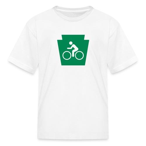 PA Keystone w/Biker - Kids' T-Shirt