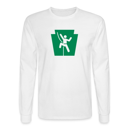 PA Keystone w/Climber - Men's Long Sleeve T-Shirt