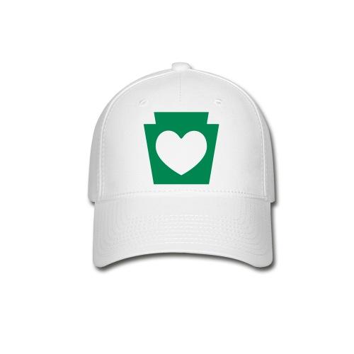 PA Keystone w/Heart - Baseball Cap