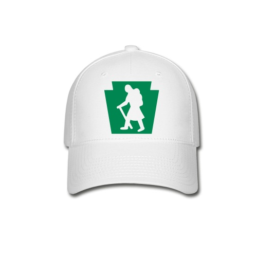 PA Keystone w/Female Hiker - Baseball Cap
