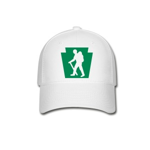 PA Keystone w/Male Hiker - Baseball Cap