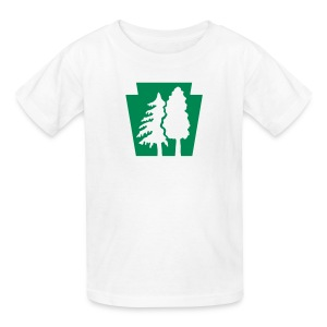 PA Keystone w/Trees - Kids' T-Shirt