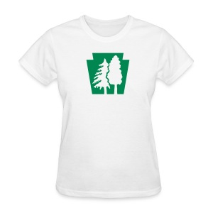 PA Keystone w/Trees - Women's T-Shirt