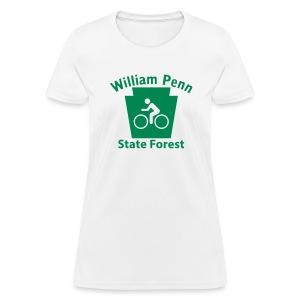William Penn State Forest Keystone Biker - Women's T-Shirt