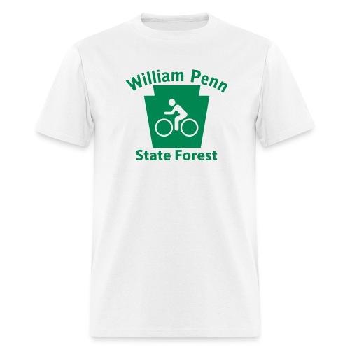 William Penn State Forest Keystone Biker - Men's T-Shirt