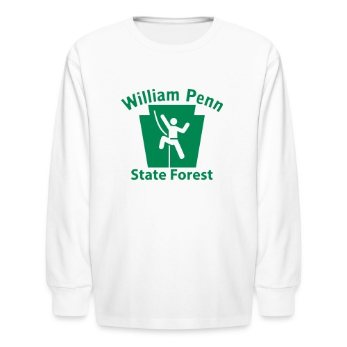 William Penn State Forest Keystone Climber - Kids' Long Sleeve T-Shirt