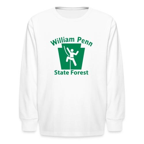 William Penn State Forest Keystone Climber - Kids' Long Sleeve T-Shirt