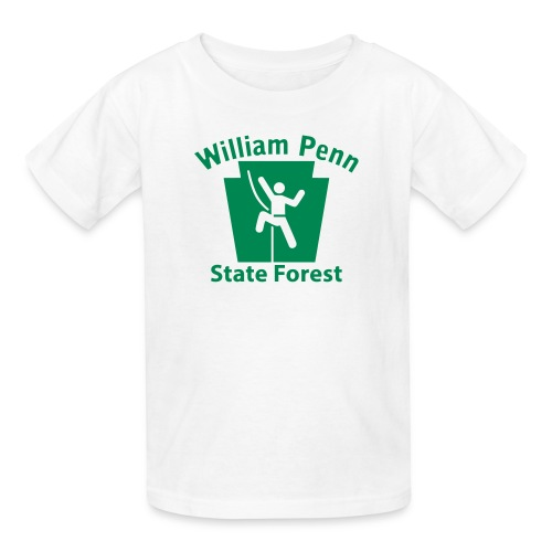William Penn State Forest Keystone Climber - Kids' T-Shirt