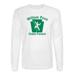William Penn State Forest Keystone Climber - Men's Long Sleeve T-Shirt
