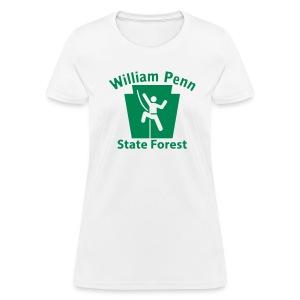 William Penn State Forest Keystone Climber - Women's T-Shirt