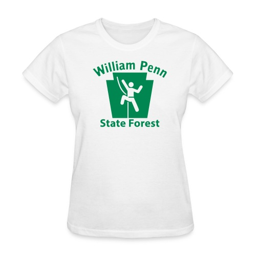 William Penn State Forest Keystone Climber - Women's T-Shirt