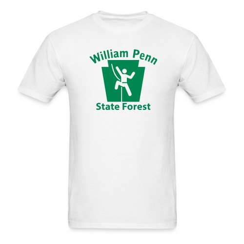 William Penn State Forest Keystone Climber - Men's T-Shirt