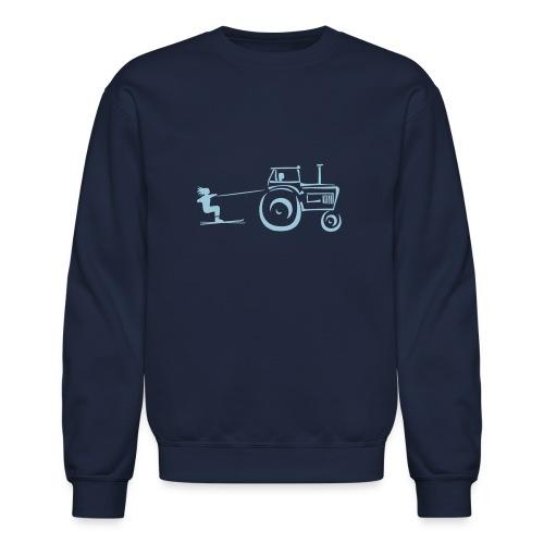 redneck skiing - Crewneck Sweatshirt