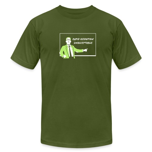 [frankenstein] - Men's T-Shirt by American Apparel