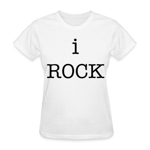 i ROCK - Women's T-Shirt