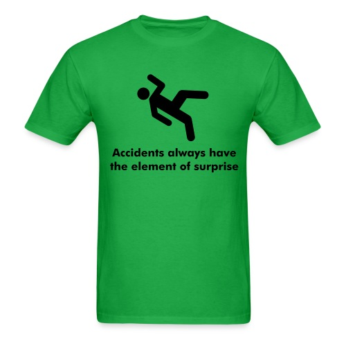 element of surprise - Men's T-Shirt