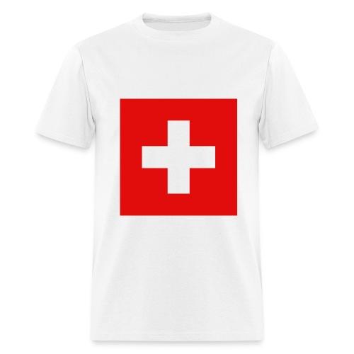 Switzerland - Flag - Men's T-Shirt