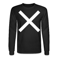 Long Sleeve Shirts ~ Men's Long Sleeve T-Shirt ~ RACER X COSTUME - PRINTED FRONT AND BACK