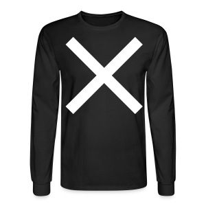 RACER X COSTUME - PRINTED FRONT AND BACK - Men's Long Sleeve T-Shirt