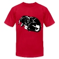 Sleeping Dachshund mens T