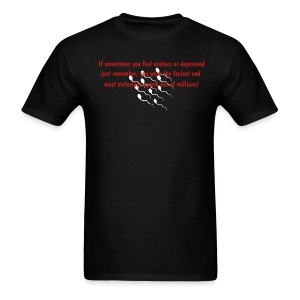 Men's Standard Fastest Sperm Tee - Men's T-Shirt