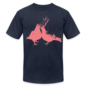 the rock doves - Men's T-Shirt by American Apparel
