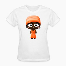 African Beauty Womens T-shirt