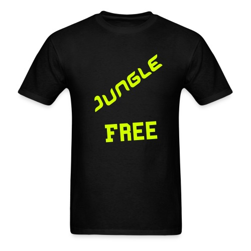 Jungle Free Tee shirt jaune et noir - Men's T-Shirt