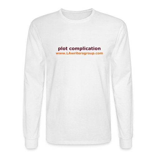 plot complication mens t-shirt - Men's Long Sleeve T-Shirt