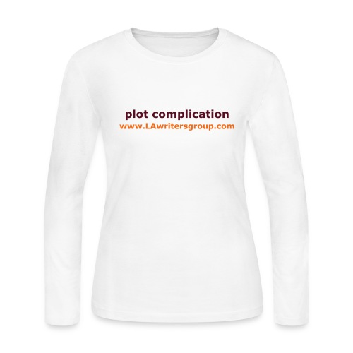 plot complication women's long sleeve t-shirt - Women's Long Sleeve Jersey T-Shirt