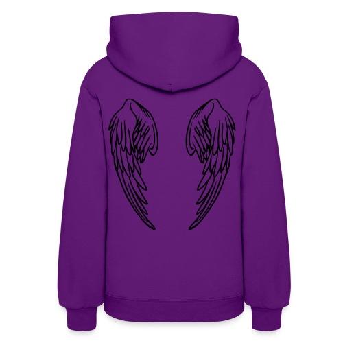 Hoodie with wings. - Women's Hoodie