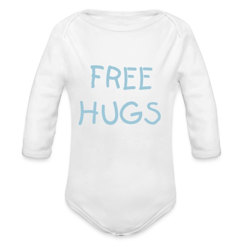 FreeHugs bebe - Organic Long Sleeve Baby Bodysuit