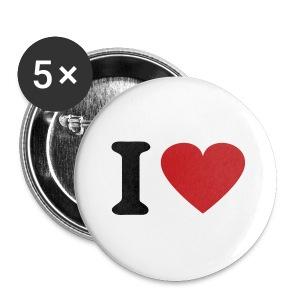 Love - Badge grand 56mm