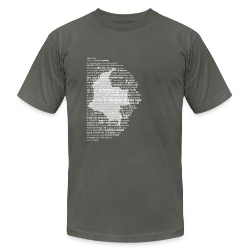 Colombiano De Pura Sepa - Men Dark Map - Men's Fine Jersey T-Shirt