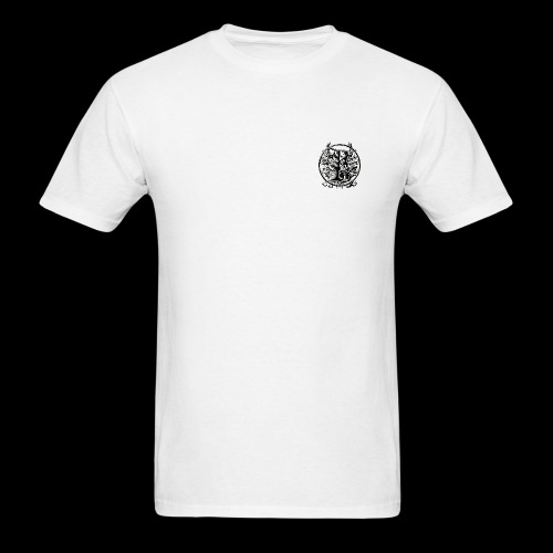 DIGITAL BROVAS Collection - Designed by KING K-REAM (White) - Men's T-Shirt