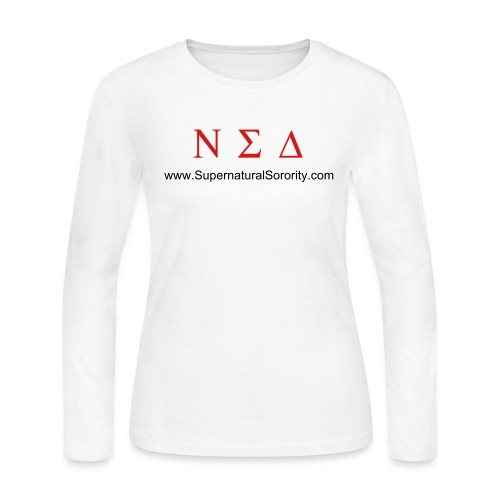 Nu Sigma Delta Long-Sleeve Tee - Women's Long Sleeve Jersey T-Shirt