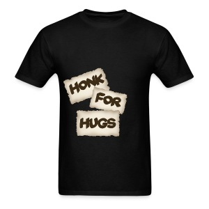 honk for hugs - Men's T-Shirt