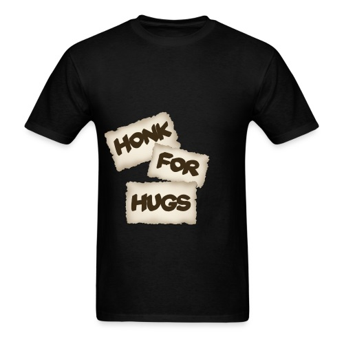 honk for hugs - Men's T-Shirt
