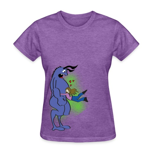 I Love Monsters - Women's T-Shirt