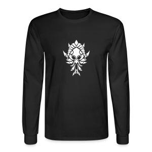 Immersion Black+White - Men's Long Sleeve T-Shirt